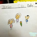 Wordless Wednesday: a peek at Jasmine's school work