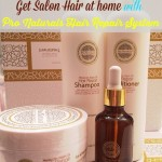Experience Salon Quality Hair at home with Pro Natural Hair Repair System