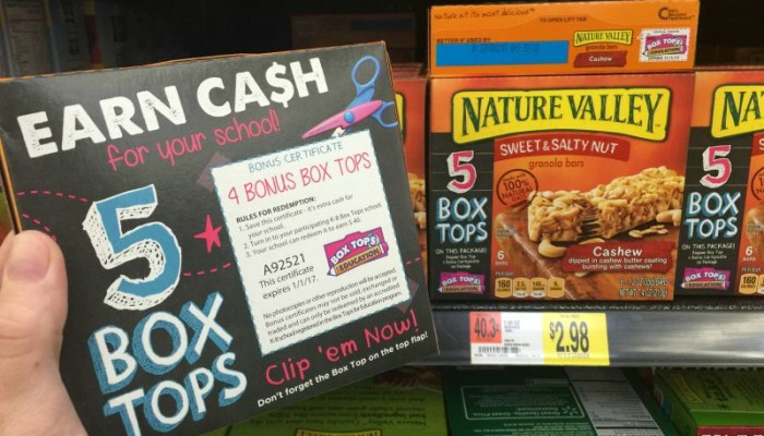 Giving kids a future: Box Tops For Education