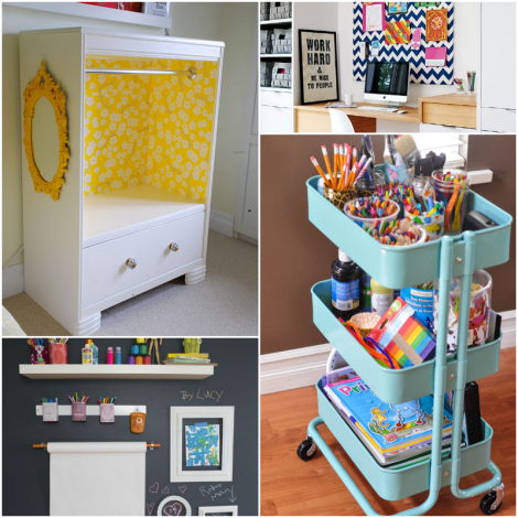 10 Organization Hacks For Living With Kids Fabulous Mom Blog