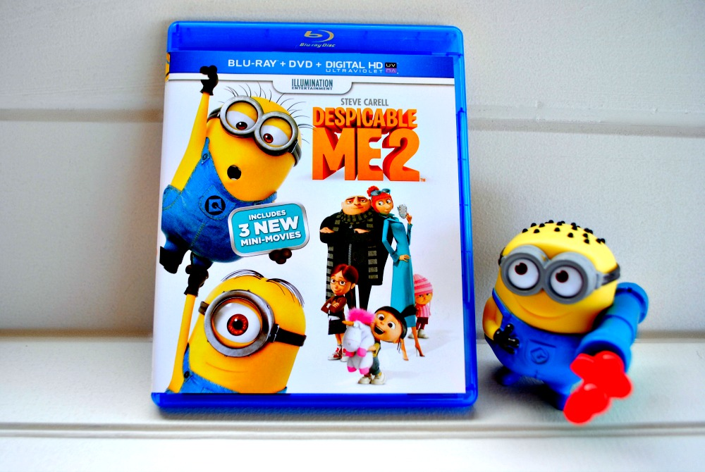 Despicable Me 2 on Blu-ray