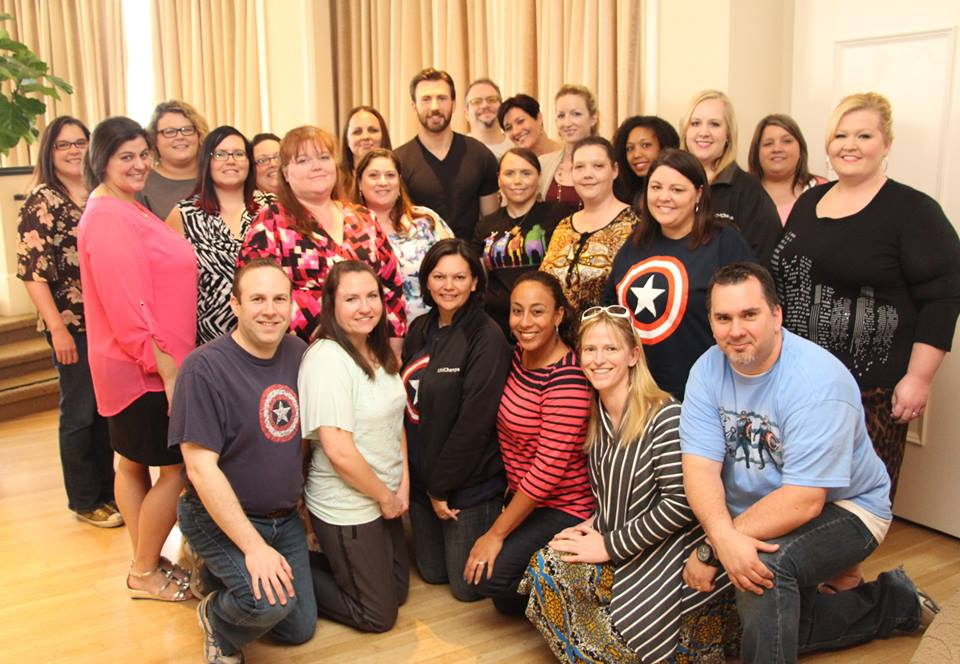 Chris Evans group interview