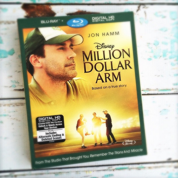 Million Dollar Arm Blu-ray