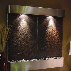 wall water fountains