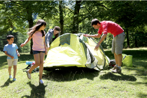 Make a Large Family Camping Trip a Success