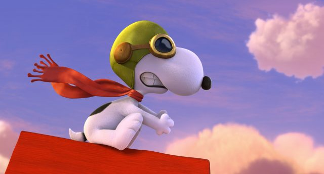 Snoopy from The Peanuts Movie