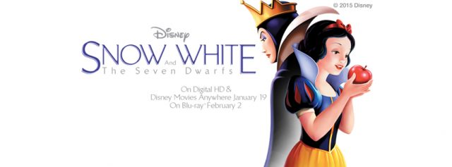 Snow White Blu ray Combo Pack