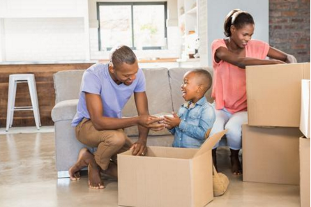 moving to an apartment with kids