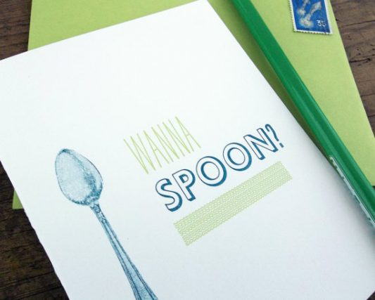 wanna spoon card