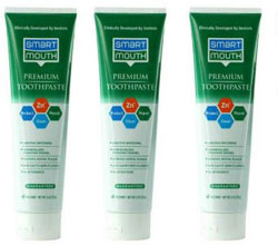 smart mouth toothpaste